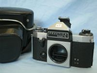 ' 42MM ' Praktica Super TL M42 SLR Camera Cased £4.99